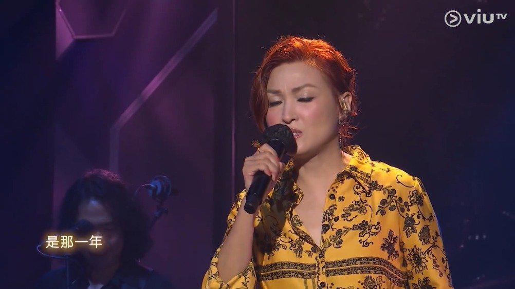 歌手@李蕙敏 7月19日登上ViuTV音乐节目《Chill Club》的舞台……