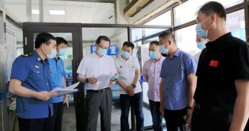 吉林市副市长、舒兰市委书记张静辉明察暗访重点场所常态化疫情...