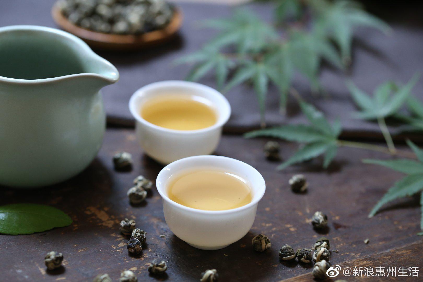 食在博罗 罗浮山甜茶