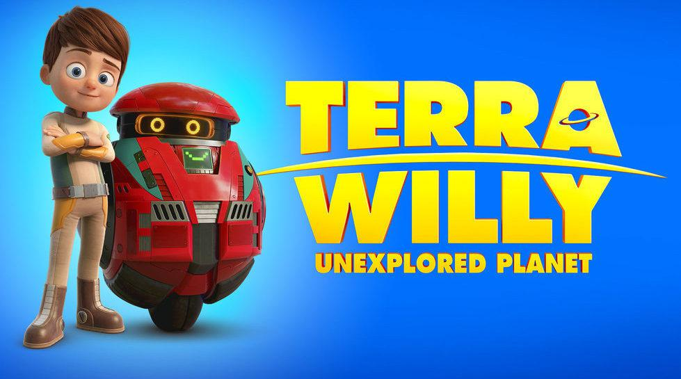 《特拉·威利:未知星球 Terra Willy: Planète inconnue》在飞船