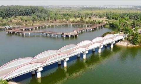 乐亭县古滦河生态公园:昔日废弃古河道,今日宜人乐游地