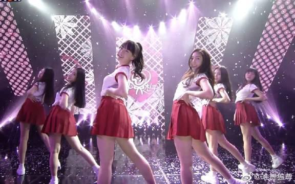 GFriend - 玻璃珠,THE SHOW出道舞台回顾,红裙子太活力了!