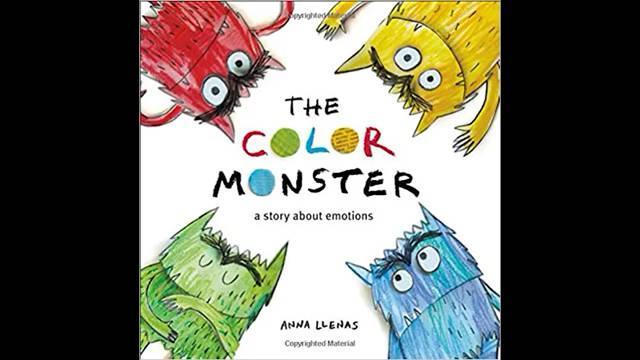 The Color Monster 分享绘本《我的情绪小怪兽》的英文原版视频