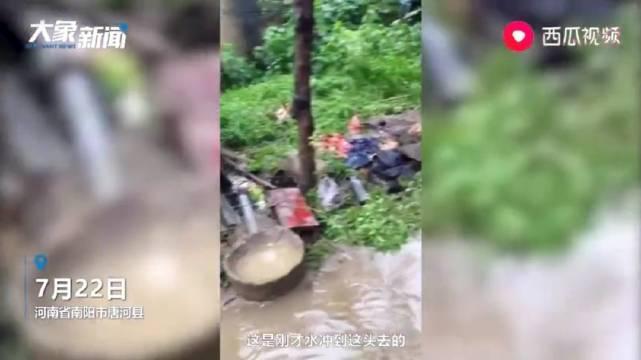 洪水淹死数千只柴鸡 南阳女子哭诉:这都是我刷信用卡养的鸡
