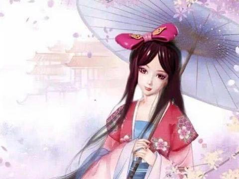 叶罗丽:身穿汉服的仙子,菲灵酷似大明湖畔的夏雨荷,莫纱很灵动