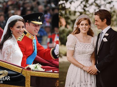 170年来的传统:碧翠丝公主婚礼的这些细节与凯特梅根都一样!