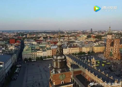 中世纪欧洲最古老的城市之一,波兰-克拉科夫