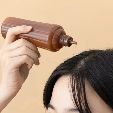 """会""""发热+冰敷""""的头皮按摩液,改善油头扁塌、超解压!"""