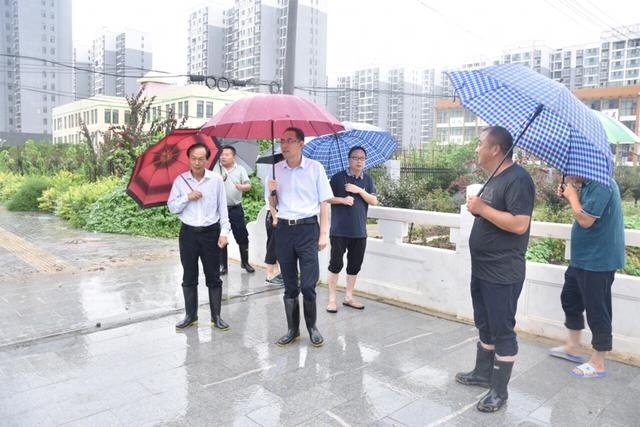 王文峰检查防汛工作