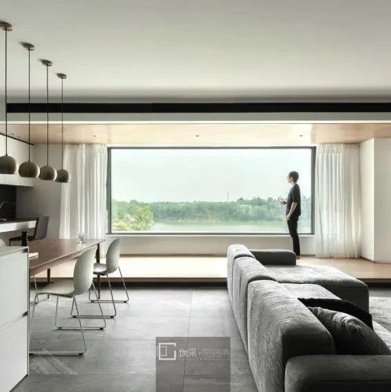 屋主改造 | 自然与生活共生共鸣,162㎡看得见风景的家