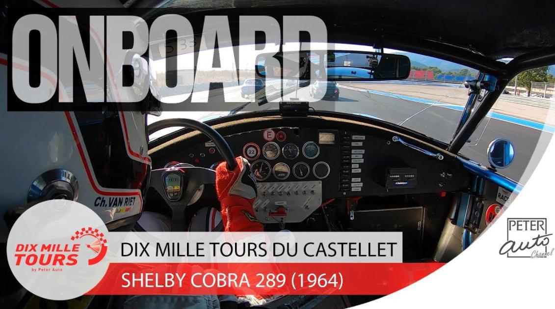 1964 Shelby Cobra 289赛道车载:车手Christophe Van Riet……