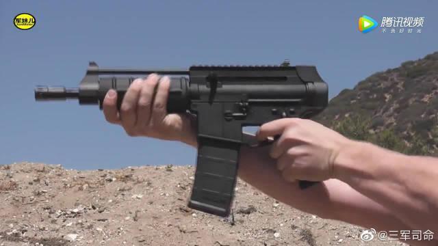 EXP 556小型步枪靶场射击评测,看似娇小……
