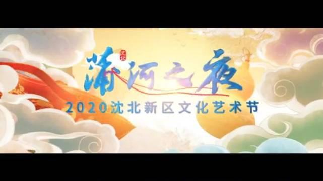 蒲河之夜 沈北新区文化艺术节开幕