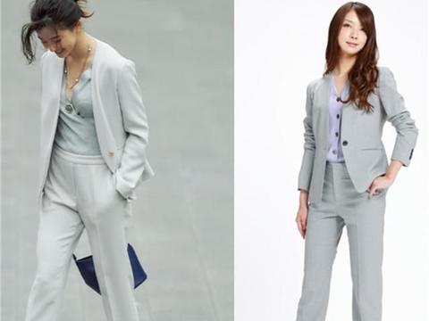 """将简约的""""通勤""""装,穿出洋气感的女人,才真的时髦"""