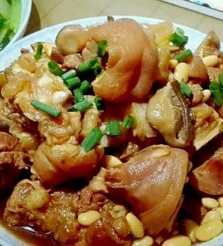 精选美食:香椿芽拌豆腐、烤箱烤羊排、白切猪脚、电饭煲猪脚做法