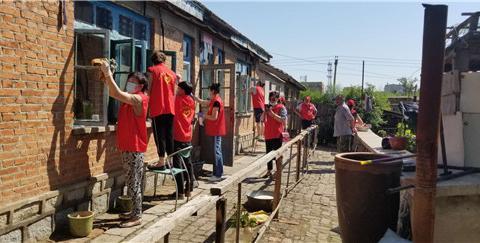 吉林省舒兰市青年志愿者协会迎八一爱心活动