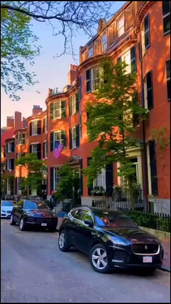 美国 马萨诸塞州 波士顿街景