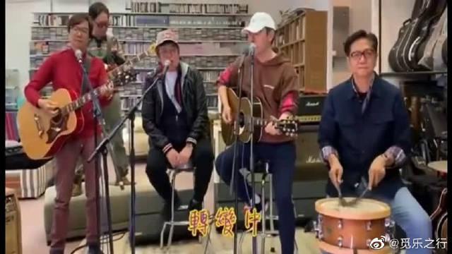 谭咏麟、钟镇涛温拿五虎改编献唱抗疫歌曲《加油》……