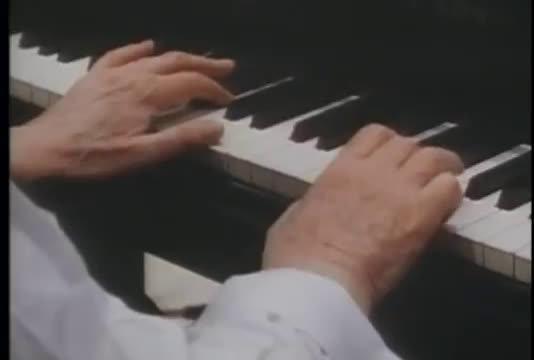霍洛维茨演奏莫扎特23钢琴协奏曲第二乐章