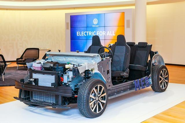 2025年,大众预告推出300公里续航电动车ID.1