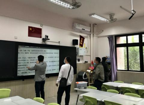 卓越集团李华助力寻乌县,实现教育资源共享