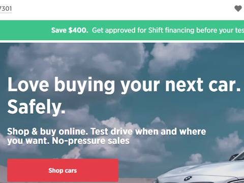 二手车交易平台曾240万元收购域名Shift.com