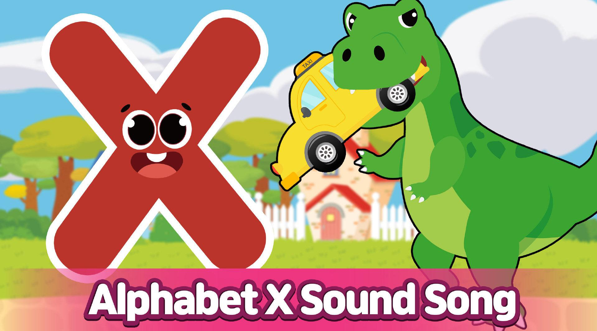 CARRIE 凯利英语自然拼读法之字母X X~fox box ox ……