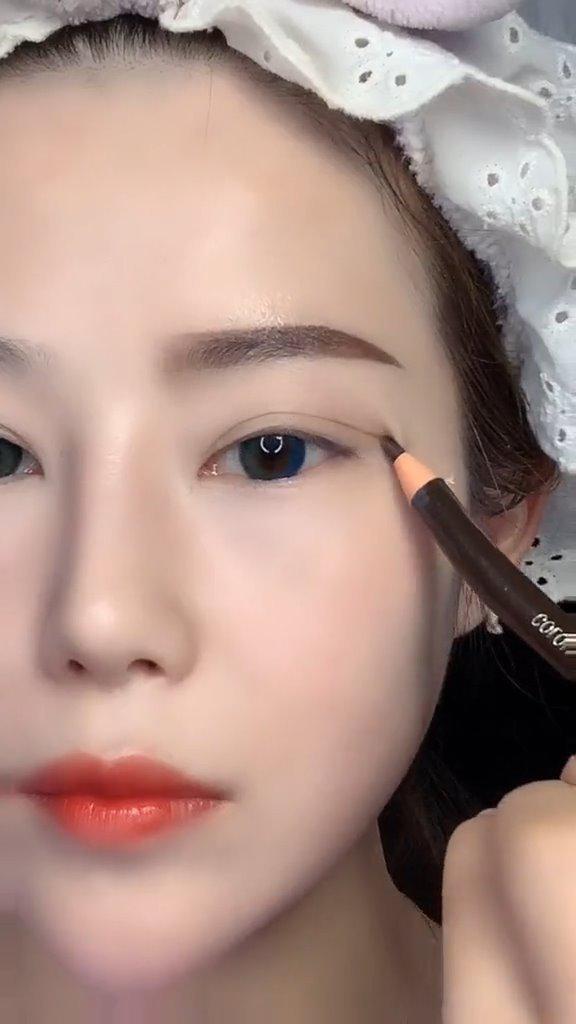 肿眼泡,单眼皮必学的眼妆教程,美美哒