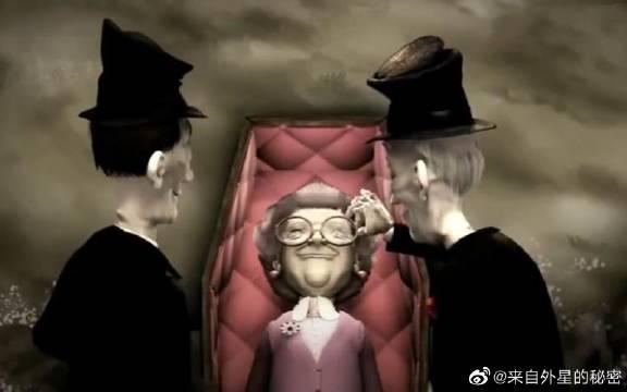 男子是殡葬师,结果棺材里老太太突然醒来,还邀请他一起跳舞