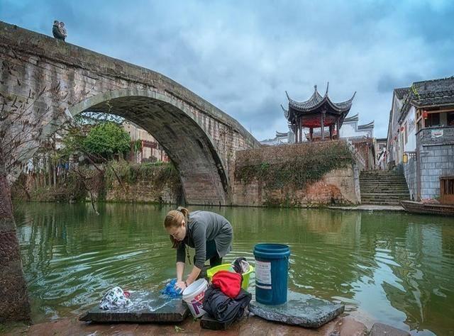 """浙江最""""慵懒""""的古镇位于兰溪一碗早茶已延续几百年"""