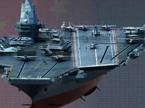 电磁弹射加FC31,规模超8万吨的国产航母或于明年上半年下水