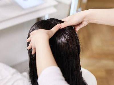头皮按摩可减少脱发?前提是你按对了!