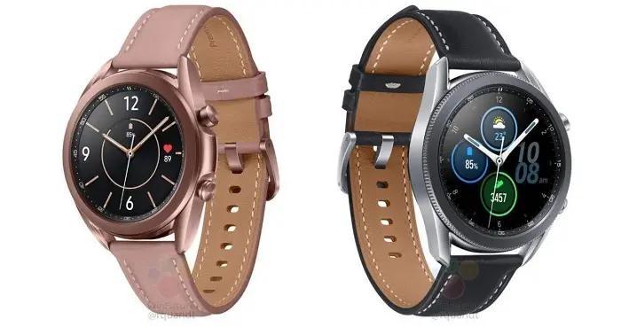疑似三星Galaxy Watch 3智能手表官方图曝光