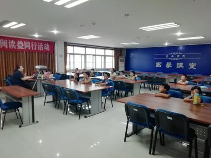 历下区图书馆举办阅读公益课堂《画给孩子的中国传统节日》