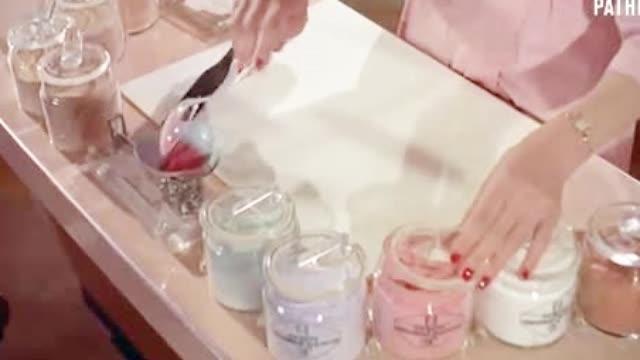 1958年的粉饼是如何制作出来的?神奇!