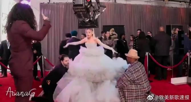 原来A妹格莱美超美红毯慢镜头是这么拍出来的