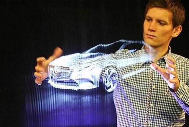 栩栩如生的黑科技 解析3D全息投影技术