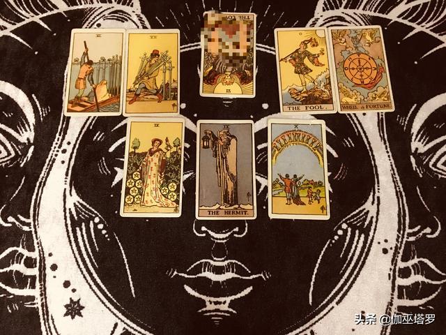伽巫塔罗:爱情占卜8.1-7,巨蟹座沟通上的障碍,狮子座感情消失