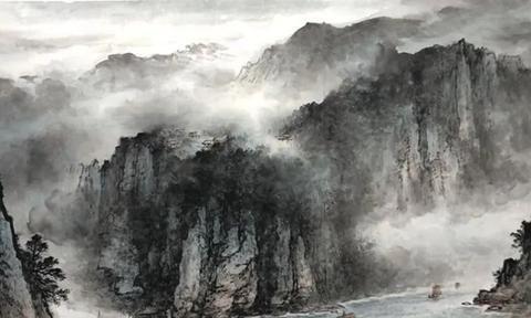 这位岭南画派的新秀,用自己的山水作品,为我们营造浪漫的意境