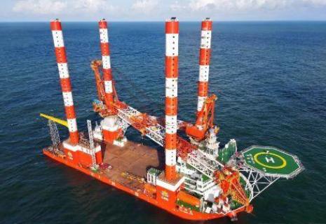 美名远扬!中国首艘插销式自升自航抢险打捞工程船完成海试!