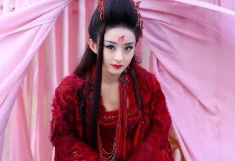 古装剧的花钿妆,热巴清纯,赵丽颖邪魅,最后一位盛世美颜