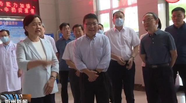 余艳红 吴伟在五寨县调研 郑连生 朱晓东一同调研