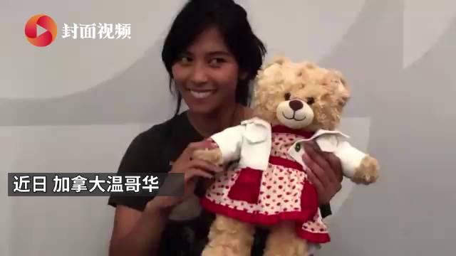 女子抱着被偷后找回的泰迪熊玩具哭泣:里面录有已故妈妈的声音
