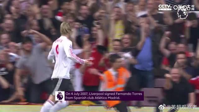 经典回顾:利物浦队球星托雷斯个人英超集锦