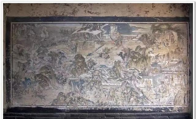 营口盖州市大山深处栩栩如生的古寺壁画