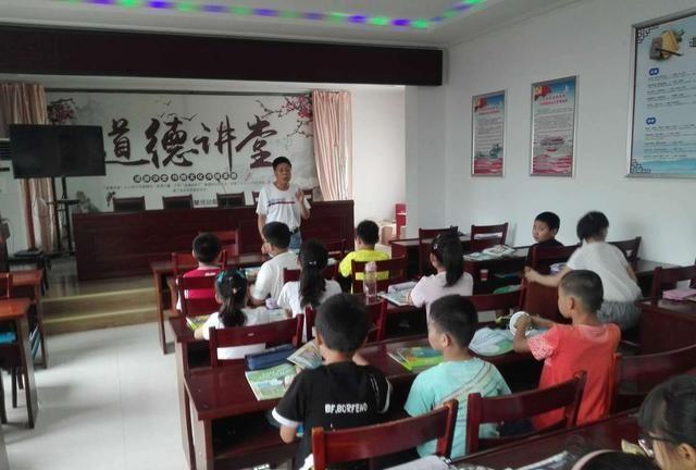 宝应县关工委领导到子婴河社区校外辅导站工作调研