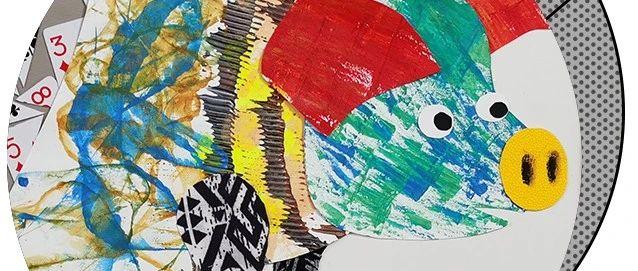 最强毕业季65期推荐|《动物形象》综合材料装饰画系列作品、山海经主题插画创作与设计