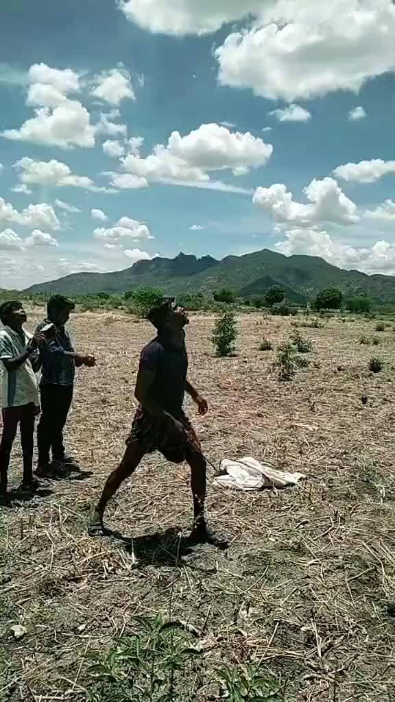 印度人的奇怪割椰子的操作方式!