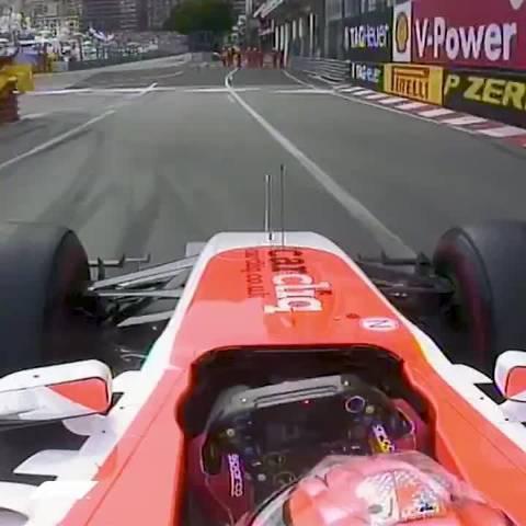 2014年F1摩纳哥站:比安奇F1首个积分