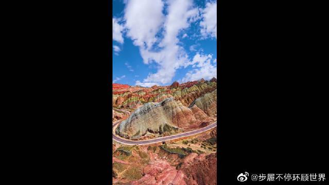 最美丹霞地貌——甘肃张掖,大自然的神作,太美了!